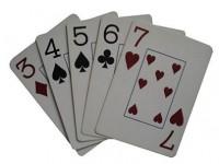 Комбинации в покере: стрит. Как собрать стрит?