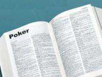 Самая важная терминология покера