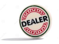 Термин баттон в покере: фишка дилера и позиция