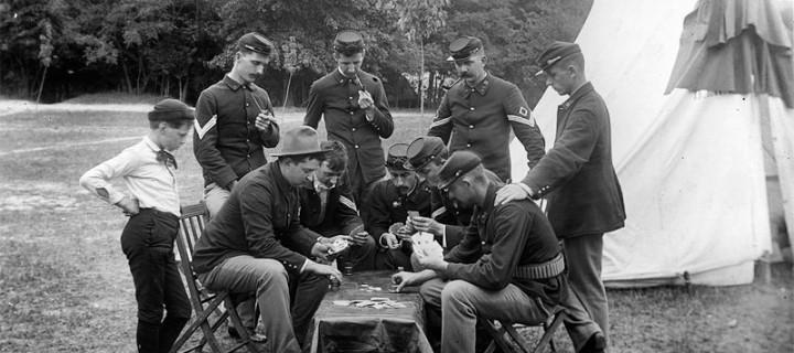 История игры в покер