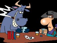 Приёмы покера: полу-блеф в покере