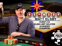 Мэтт Элсби стал победителем турнира $3,000 Limit Hold'em Six Max