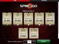 На PokerStars добавили Spin & Go с бай-инами $100