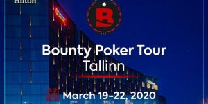 Начало покерного тура Bounty Poker Tour в казино Olympic Park в Таллинне 19-22 марта